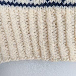 Vintage Sweaters - Vintage Nordic Style Wool Blend Sweater